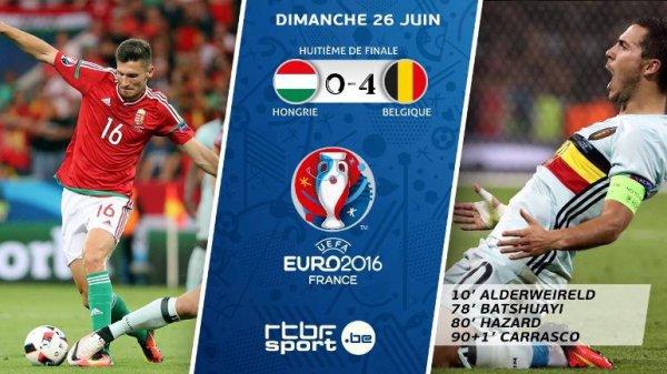 La Belgique tient son rang et se qualifie pour les quarts
