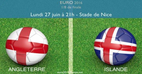 L'Islande élimine l'Angleterre et rejoint la France en quarts de finale de l'Euro