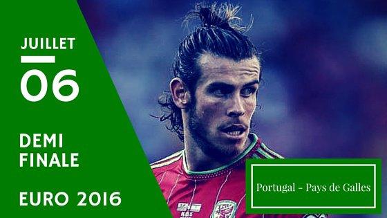 Le Portugal premier qualifié pour la finale de l'Euro après sa victoire contre le pays de Galles