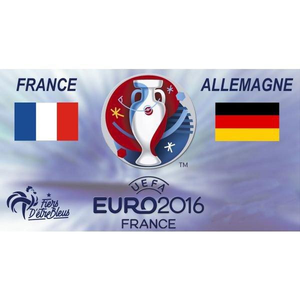 La France en finale après avoir battu l'Allemagne en demie