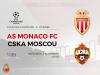 Monaco prend une option sur la qualification en huitièmes de finale en battant le CSKA