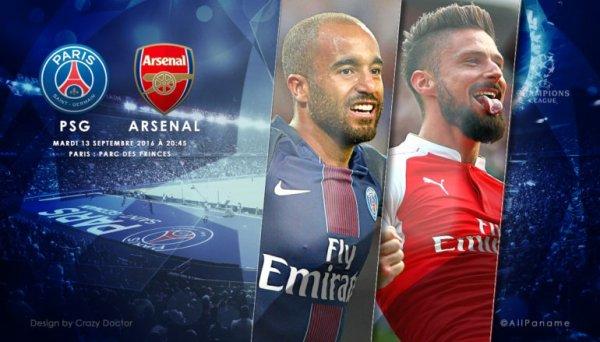 Paris décroche le nul à Arsenal (2-2) et prend la tête du groupe A