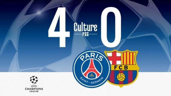 Un incroyable PSG écrase le Barça (4-0) en Ligue des champions