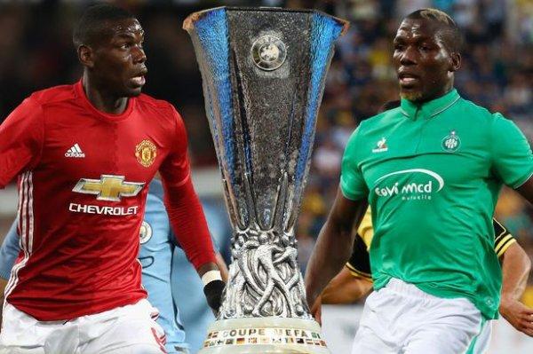Pas de miracle pour Saint-Etienne éliminé par Manchester United en Ligue Europa