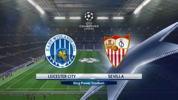 Leicester garde ses chances malgré la défaite à Séville