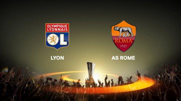 Lyon domine l'AS Rome en huitième de finale aller de la Ligue Europa