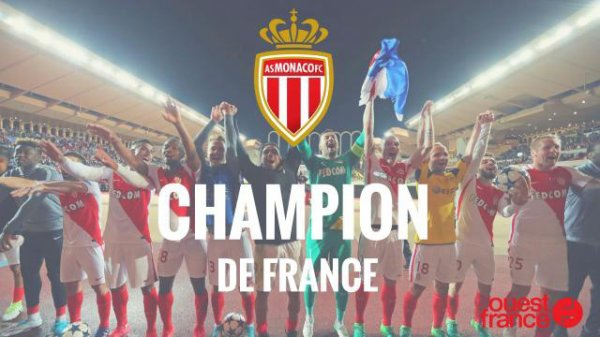 Monaco décroche son 8e titre de champion de France