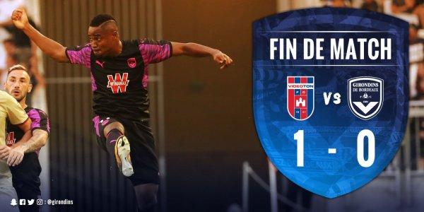 Bordeaux rate les barrages après sa défaite face à Videoton (1-0)