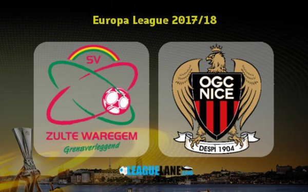 Nice enchaîne avec un nouveau carton à Zulte Waregem en Ligue Europa