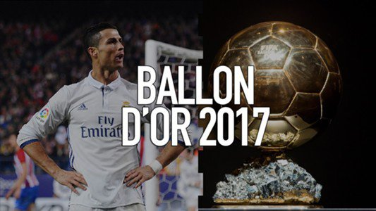 Le classement du Ballon d'Or France Football 2017