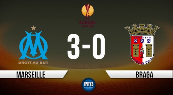 L'OM s'impose 3-0 face à Braga et prend une option sur la qualification