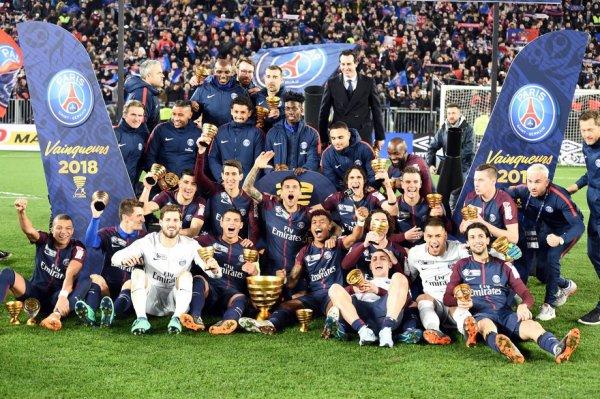 Le PSG surclasse encore Monaco en finale de la Coupe de la Ligue