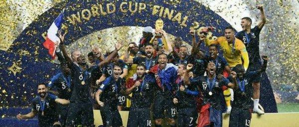 Coupe du monde2018: la France arrache sa seconde étoile