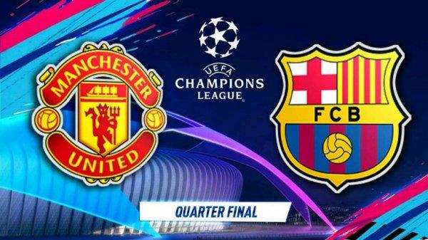Ligue des champions: le Barça l'emporte sur le terrain de Manchester United après un petit match