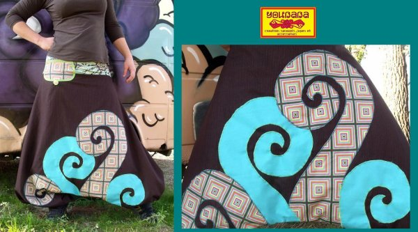 nouveau sarouel spirales !! sur mon site :)