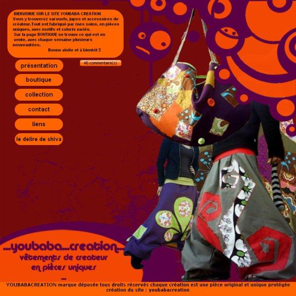 découvrez le nouveau graphisme du site YOUBABA CREATION !!