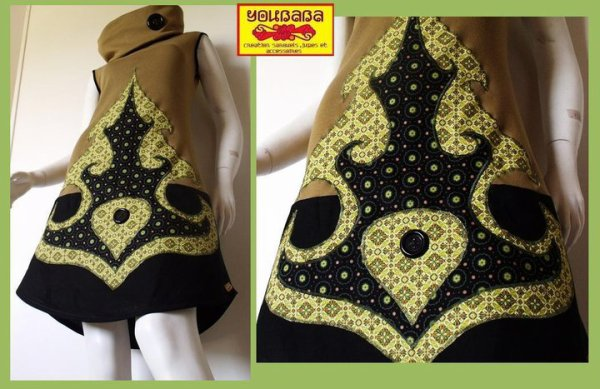 nouvelle robe créateur, youbaba création piece unique !