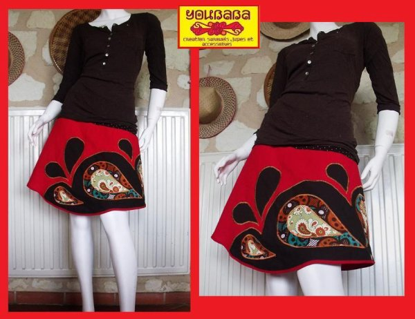 nouvelle jupe creation !