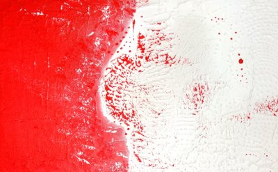 Peter Rage RED & WHITE! Art is Life! Life is an Art!