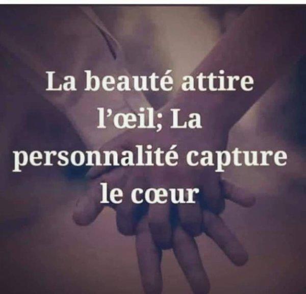 La beauté et le coeur..