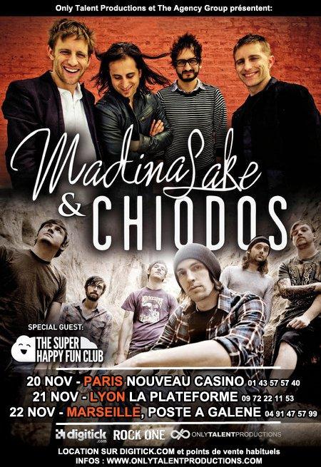 Flyer officiel de la tournée française ! A imprimer & à distribuer pour les plus motivés ;)