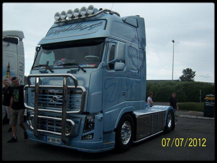 magny cours 2012 camion volvo fh transport dieppedalle pris par mes soins toto ptit routier. Black Bedroom Furniture Sets. Home Design Ideas