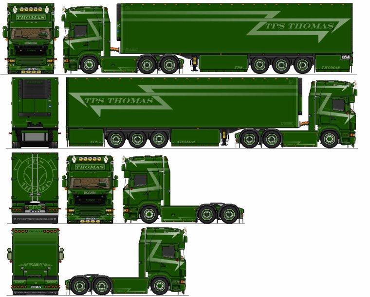 Scania 2d a mon nom (fait par mes soins)