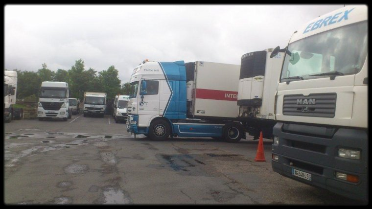 daf xf 105 transport nickoot (pris par mes soins)