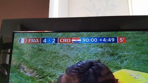 La victoire de la France en coupe du monde 2018 !!! 2eme etoile =)  15 juillet 2018