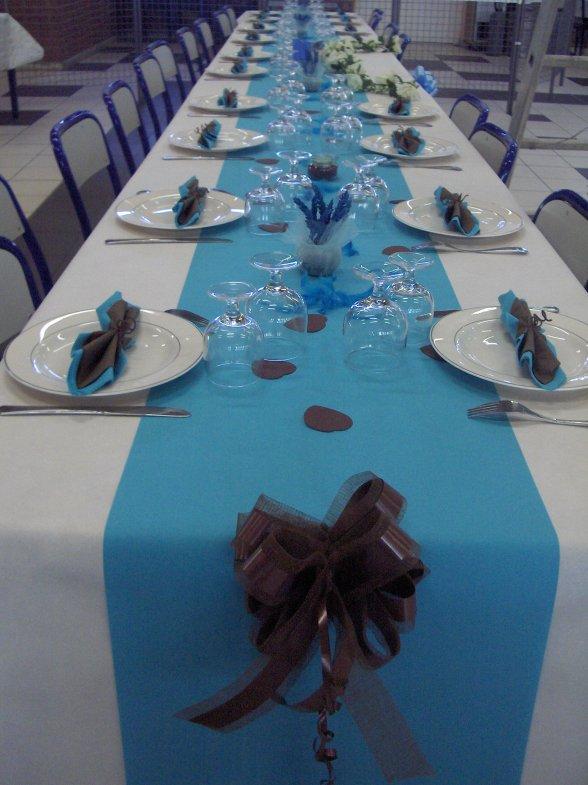 Id e d co de table pour mariage blog de cricricuisine - Idee decoration de table ...