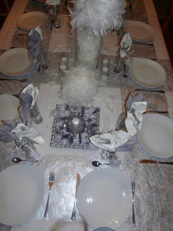 ma table du réveillon de noel 2010