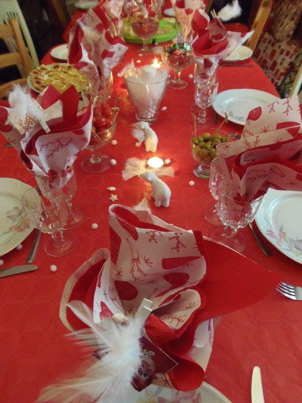 ma table le jour de noel 2011