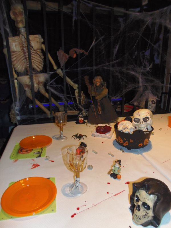 déco de table Halloween 2013