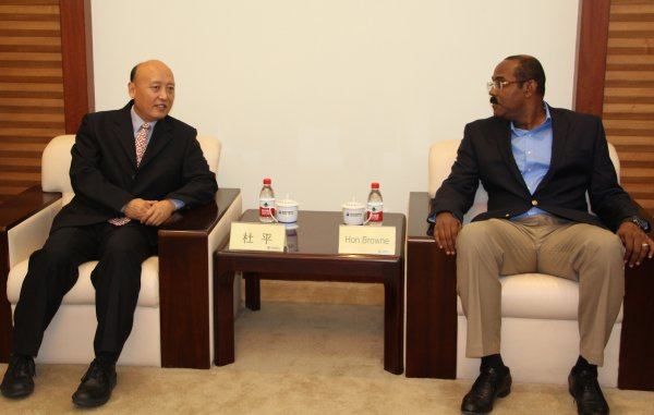 Major Telecoms Giant Huawei expresses interest in Antigua and Barbuda