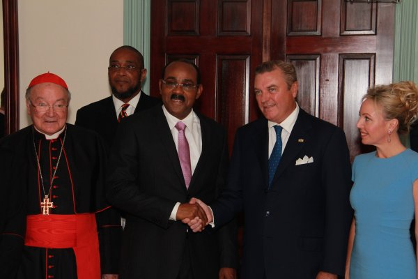 Antigua and Barbuda Receives Royal Visit from Sacred Military Constantinian Order of St. George