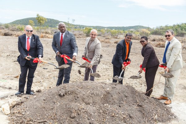 Ground Breaking Adams Investment Management Group Marble Hill Road - Friars Hill