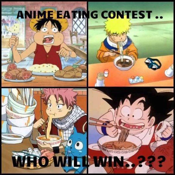 Naruto, One Piece, Fairy Tail et Dragon Ball Z ^^