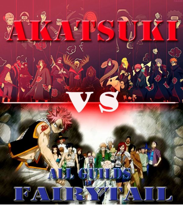 Akatsuki VS Fairy Tail