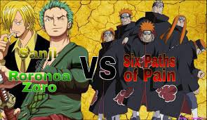 Sanji & Zoro VS Pain ^^