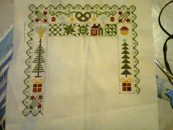 patchwork noel jardin privé