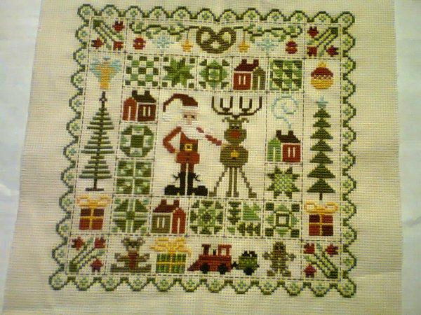 patchwork noel jardin privé FINI !!!