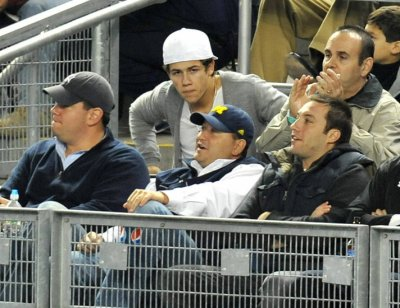nick au match des  Yankees
