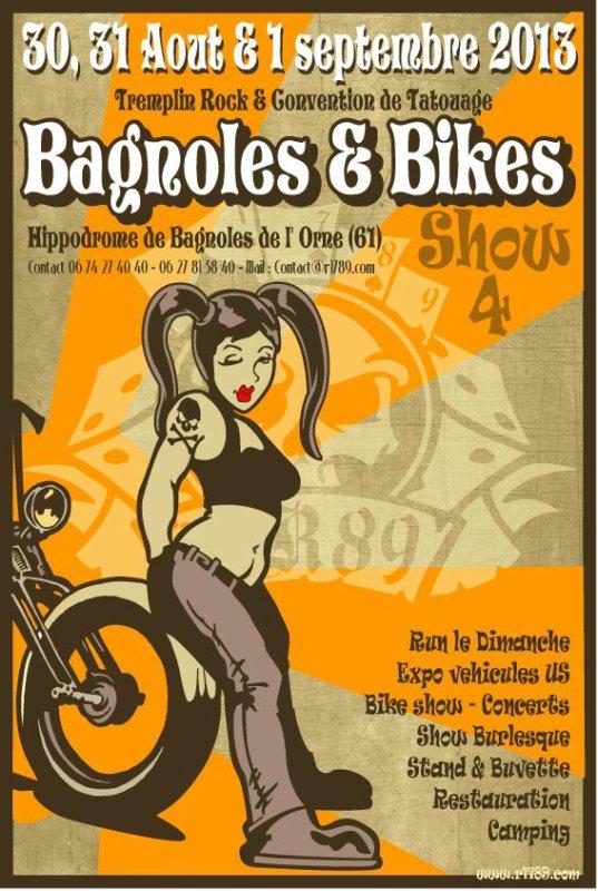 Quatrième édition du Bagnoles and Bikes Show