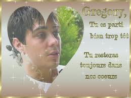 Grégory Lemarchal for ever dans nos coeur <3