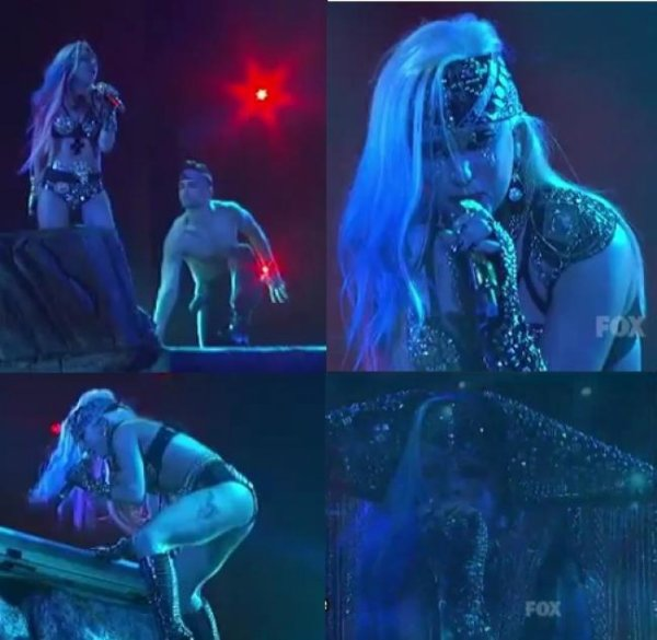 "Look de Lady Gaga : ""The Edge Of Glory"", À la finale d'American Idol"