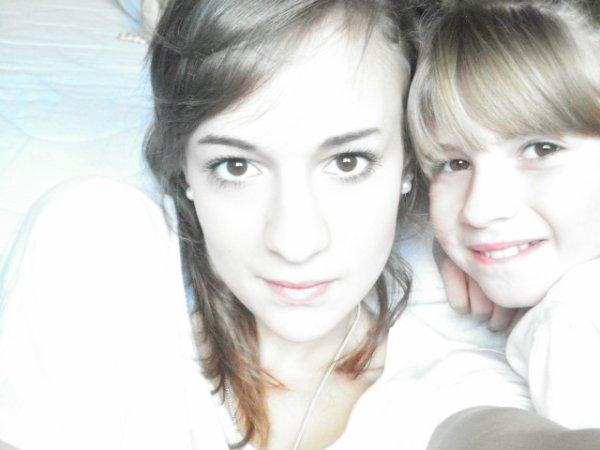 (l) mes deux filles carolane et swan (l)