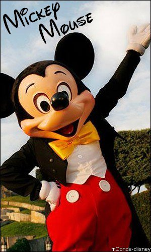 Fiche personnage : Mickey Mouse