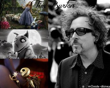 Tim Burton et Disney.