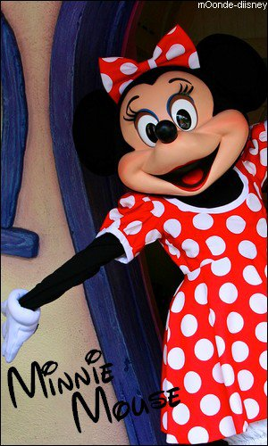 Fiche personnage : Minnie Mouse
