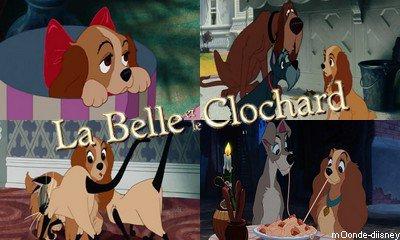 Fiche film : La Belle et le Clochard
